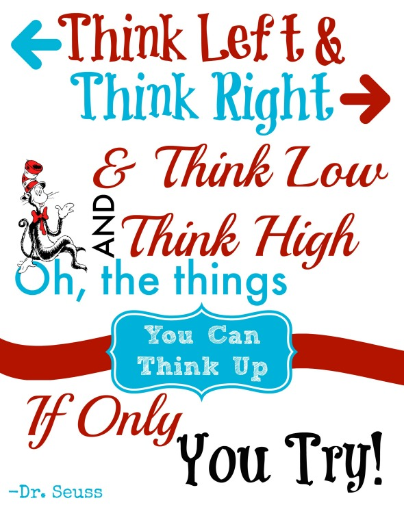 dr seuss quotes thinkk let t think right think low picsmine