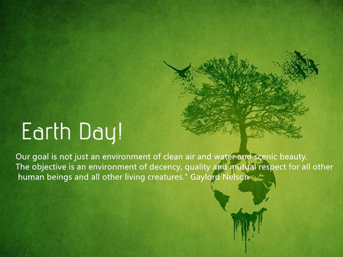 Earth Day Quotes earth day our goal is not just an environment of clean