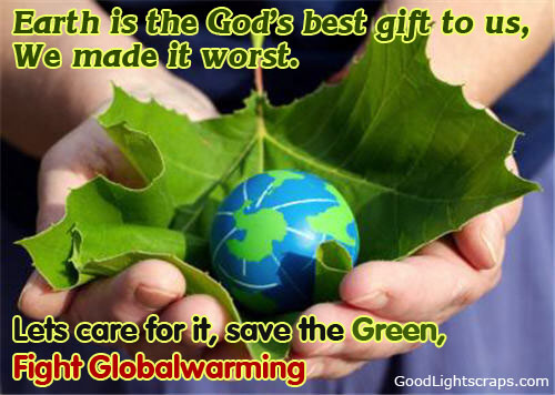 Earth Day Quotes earth is the god's best gift to us we made it