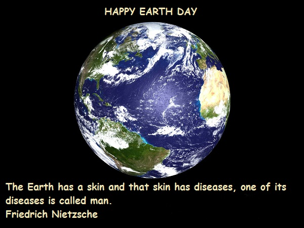 Earth Day Quotes happy earth day the earth has a skin