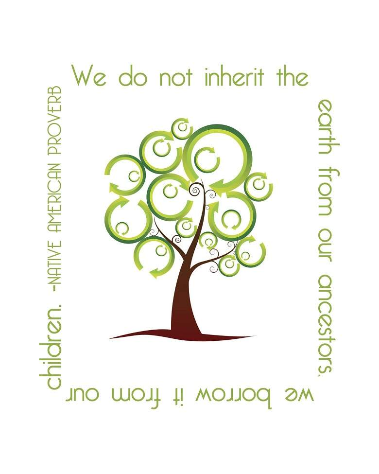 Earth Day Quotes we do not inherit the earth from our oncestors