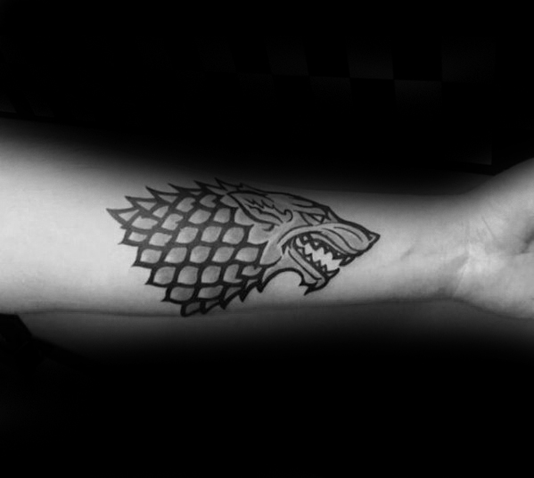 Fantastic Game Of Thrones Tattoos On arm for men