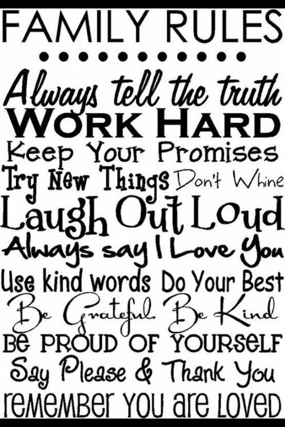Godmother Quotes family rules always tell the truth work
