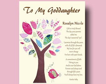 Godmother Quotes to my goddaughter i felt to