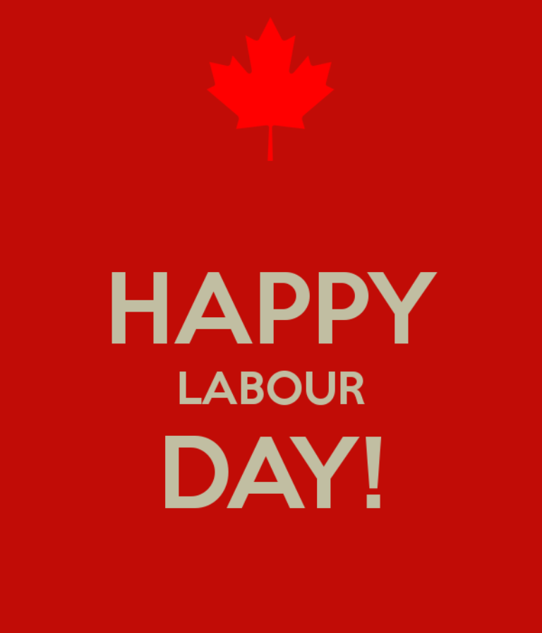 Happy Labour Day Canada Wishes Image