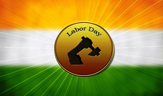 Happy Labour Day India Best Wishes Message Image