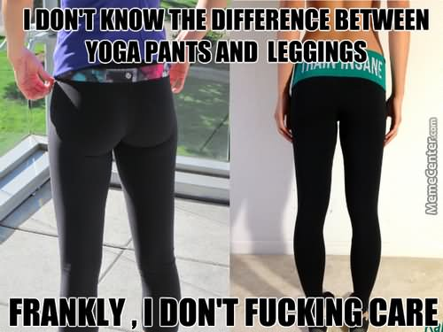 I don't know the difference between Pants Meme