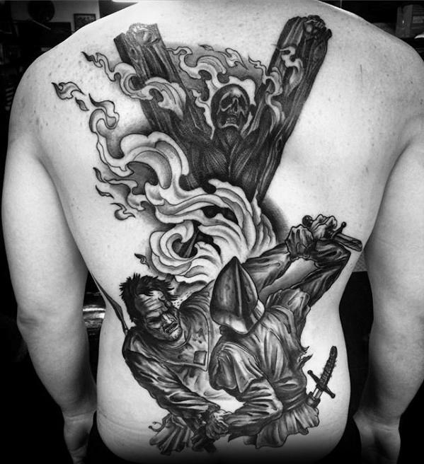 Inspiring Game Of Thrones Tattoos For full back