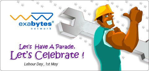 Let's Have A Parade Let's Celebrate Labor's Day Greetings Message Image