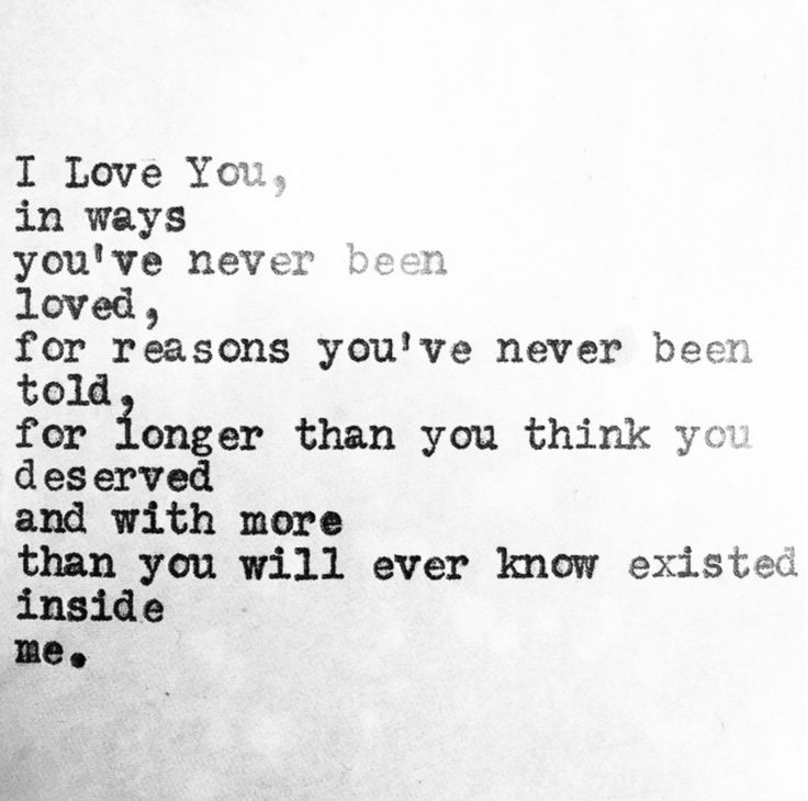 Long Love Quotes i love you in ways you've never