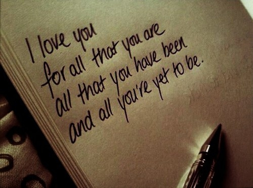 Love Quotes For Husband I love you for all that you