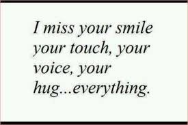 Love Quotes For Husband i miss your smile your touch your voice
