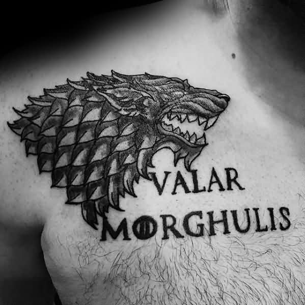Marvel Game Of Thrones Tattoos On chest for Tattoo fan