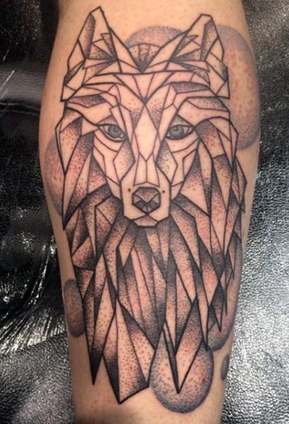 Marvelous Calf Tattoos On Leg for Men