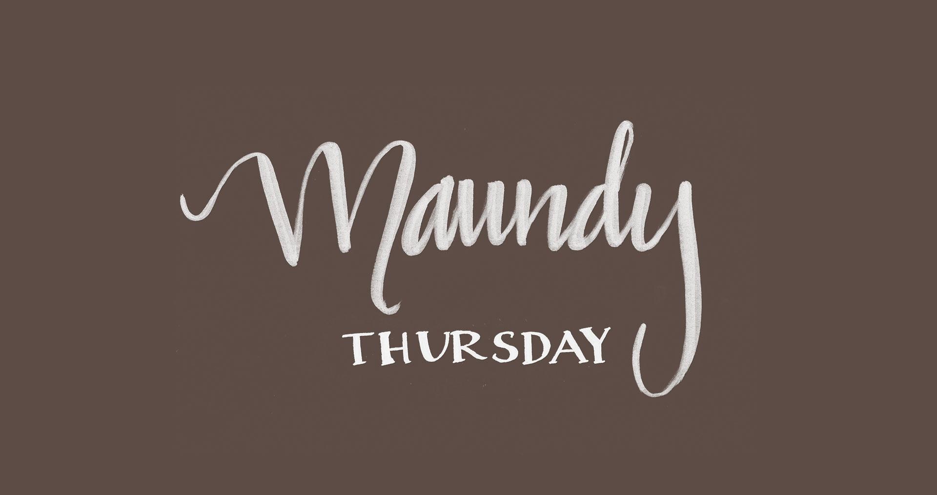 Maundy Thursday Images 01916