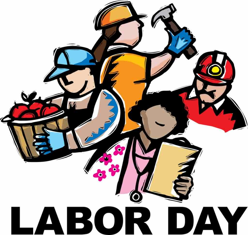 May 1st Labour Day Clipart Images