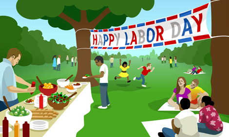May 1st Labour Day Holiday Celebration