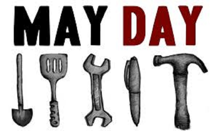 May Day Labour Day Wishes Image