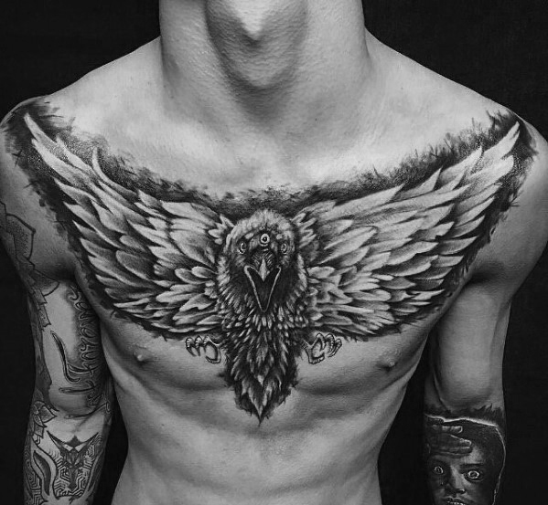Motivational Game Of Thrones Tattoos On chest for men