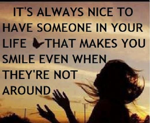 Motivational Love Quotes it's always nice to have someone in your life