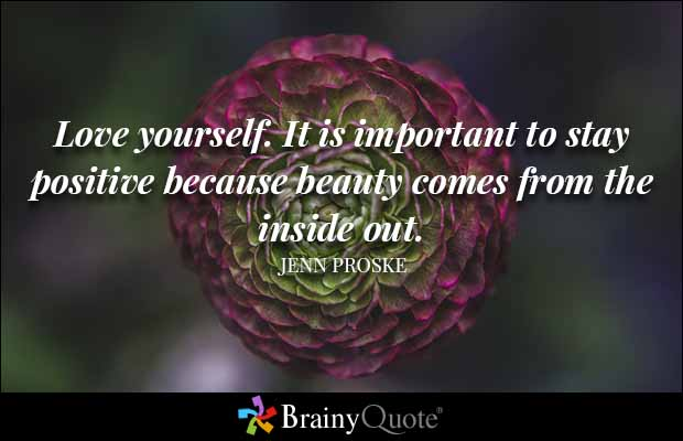 Motivational Love Quotes love yourself it is important to stay