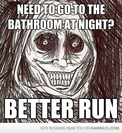 Need to go to the bathroom at Weird Meme