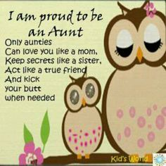 Niece Quotes i am proud to be an aunt