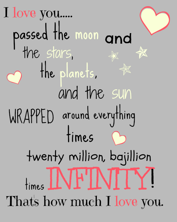 Niece Quotes i love you passed the moon and the stars