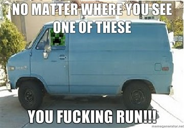 No matter where you see one of these Van Memes