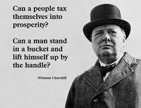 Political Quotes Can a people themselves into prosperity