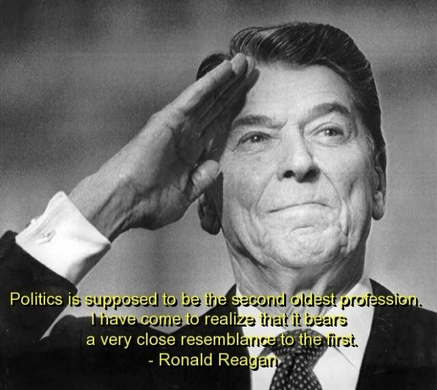 Political Quotes Politics is supposed to the second oldest