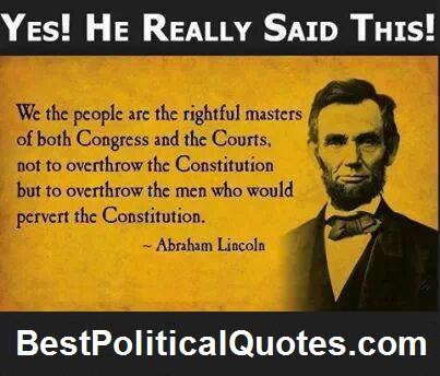 Political Quotes Yes he really said this best political