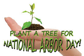 Save Earth Happy Arbor Day Message Image