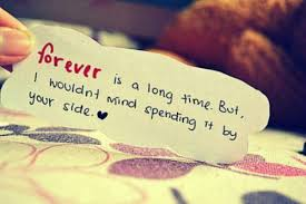 Short Love Quotes forever is a long time but