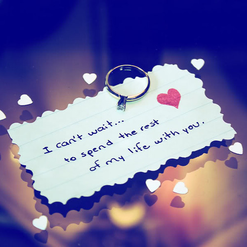 Short Love Quotes i can't wait to spend the rest
