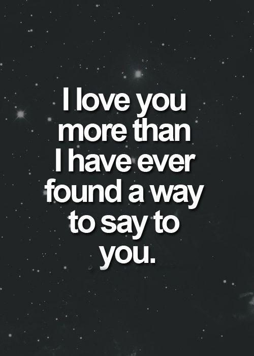 Short Love Quotes i love you more than i have
