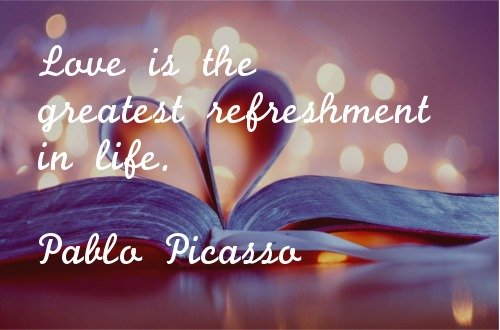 Short Love Quotes love is the greatest refreshment