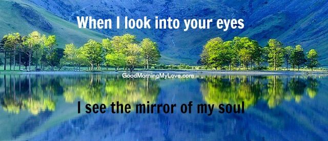 Short Love Quotes when i look into your eyes