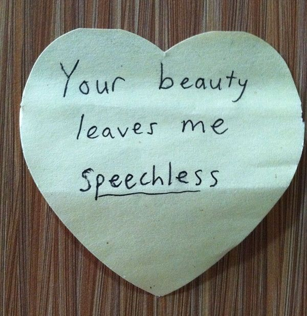 Short Love Quotes your beauty leaves me