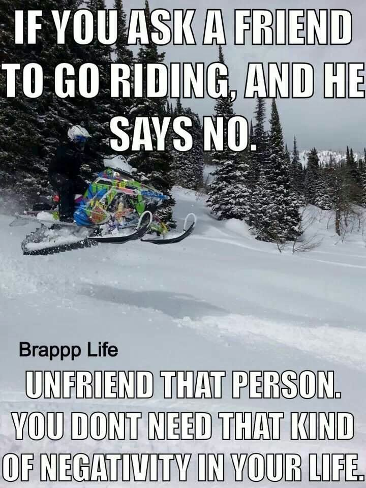 Sled Meme If you ask a friend to go riding and he says no