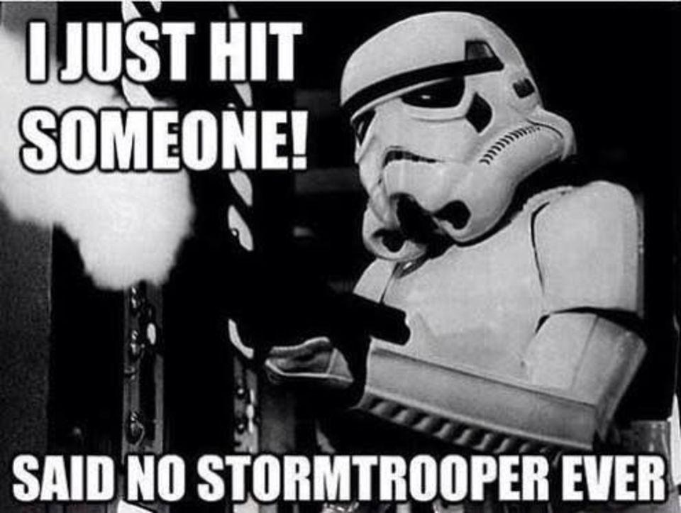 Star War Memes I just hit someone said no
