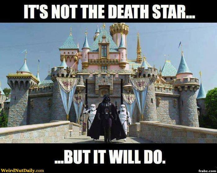 Star War Memes It's not the death star but it will do