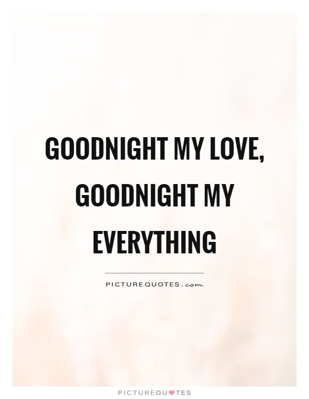 Sweet Good Night Love Quotes