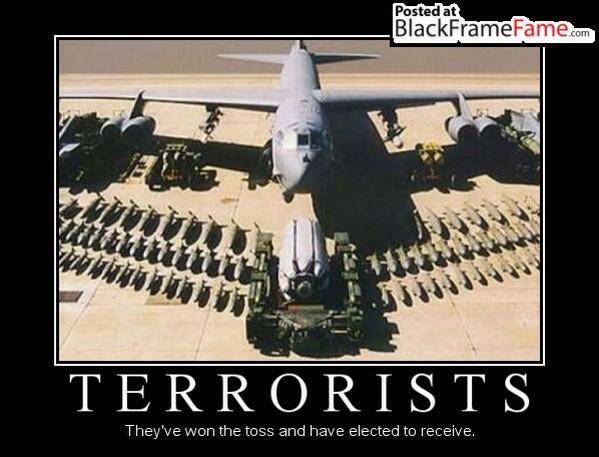 Terrorists Meme Terrorists they've won the toss