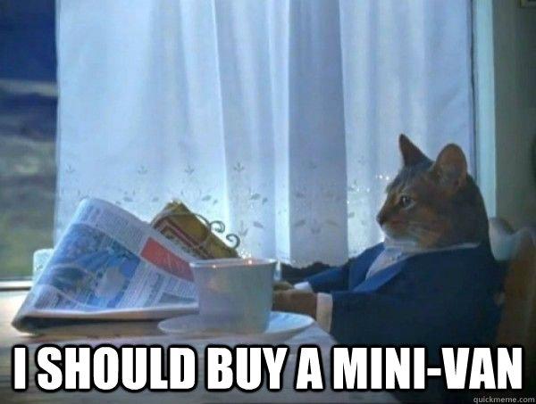 Van Memes I should buy a mini van