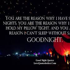 Very charming Good Night Love Quotes