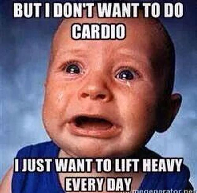 Weightlifting Memes but i don't want to do cardio