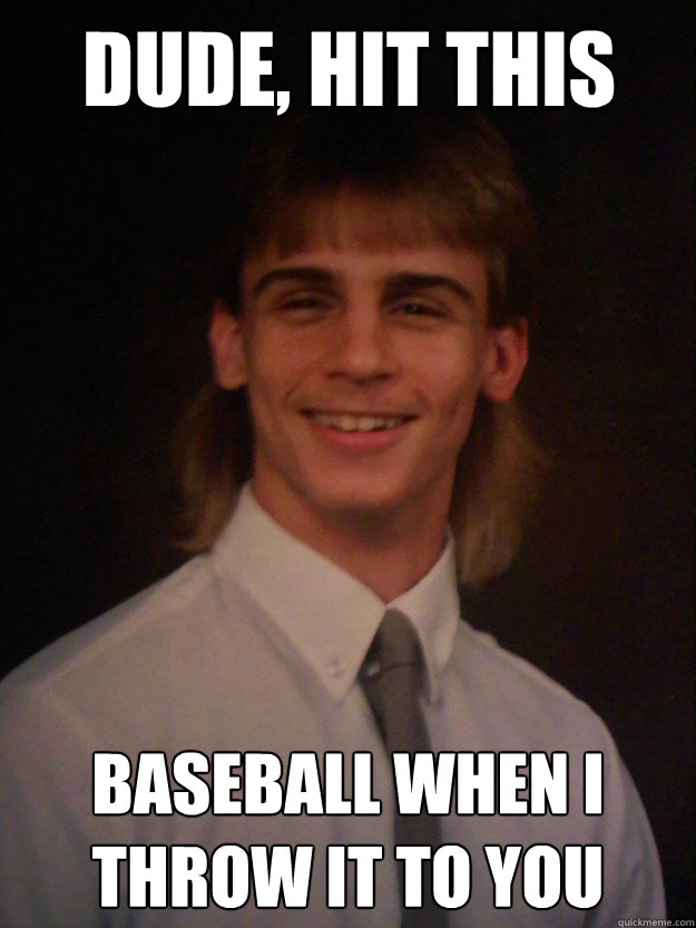 Weird Meme Dude hit this baseball when