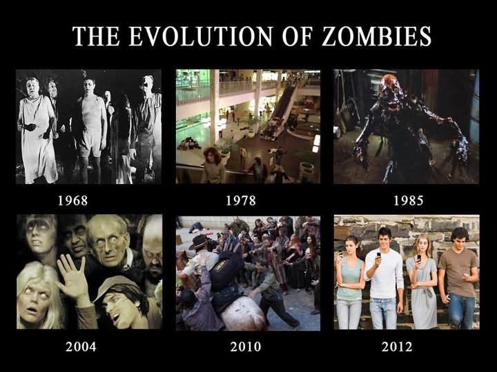 Zombie Meme They evolution of zombies zombie meme they evolution of zombies picsmine,Memes Evolution