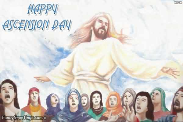 Ascension Day Wonderful Greetings Message Image